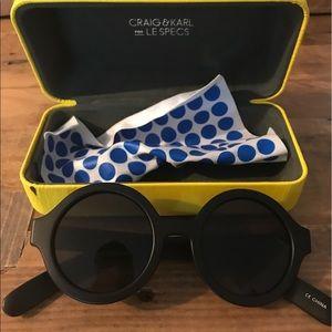 Le Specs Accessories - Le Specs Round Sunglasses 😎