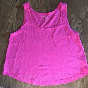 American Eagle Outfitters Tops - Pink crop top