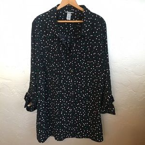Catherines Tops - NWOT Catherine's 3x long sleeve button up