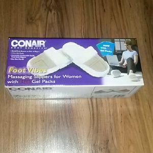 conair  Shoes - Conair foot vibes massaging slippers