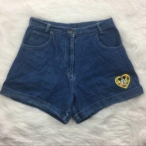 Disney Pants - Vintage Disney High Waisted Shorts