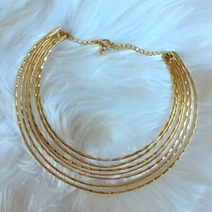 Jewelry - Fabulous layered gold choker