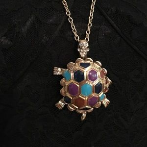 COLORFUL TURTLE NECKLACE