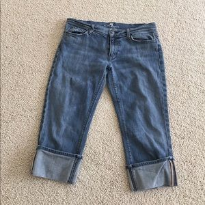 7 For All Mankind Denim - 7 for all Mankind capri jeans. Size 31