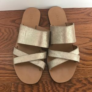 J. Crew Shoes - J.Crew Bali Slide Sandals