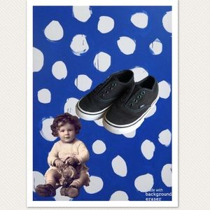 Babies Unisex Black Vans