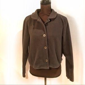 Route 66 Jackets & Blazers - Route 66• Brown Fleece Jacket