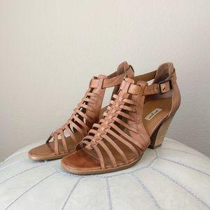 Paul Green Elvis Sport Black Leather Women/'s Shoes