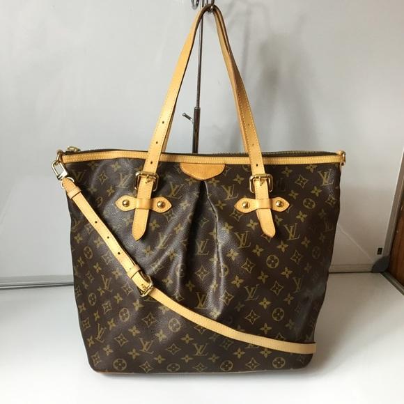 Louis Vuitton Handbags - 100% Authentic Louis Vuitton Palermo GM with Strap 1054401d572d8
