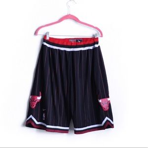 Nike Other - NIKE Old School Pinstripe 90s Chicago Bulls Shorts