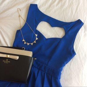 Tea n Cup Dresses & Skirts - NWOT Royal Blue Classic Heart Dress