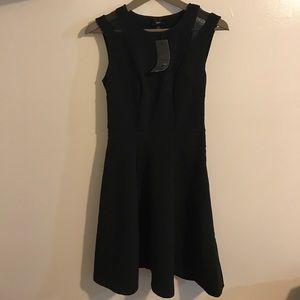 mossimo Dresses & Skirts - NWT shoulder mesh skater dress