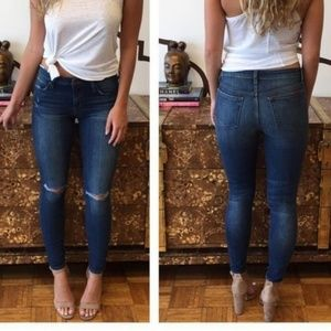 Joe's Jeans Denim - Joe's Jeans Icon Skinny Destructed in Terri
