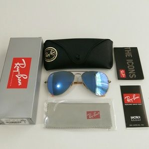 Ray-Ban Accessories - Authentic Lilac Ray Ban Aviator