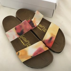 Brand new Birkenstock by papillo sandals