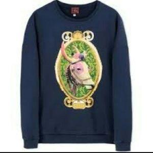 Stella Jean Sweaters - Stella Jean cow sweatshirt