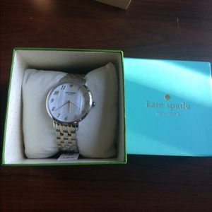 kate spade Accessories - ♠️ Kate Spade silver and gold watch NWT♠️