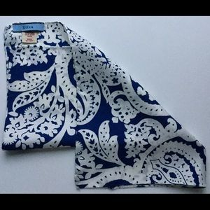 Altea Other - New white and navy stylish pocketsquare ALTEA😍