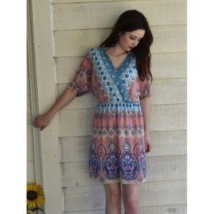 luxology Dresses & Skirts - Luxology Print Casual Dress