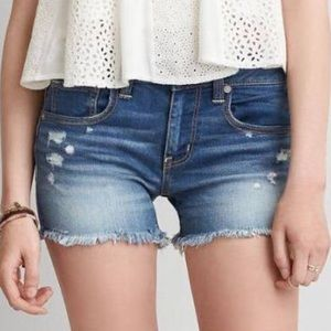 American Eagle Outfitters Pants - New American Eagle midi low rise jean shorts