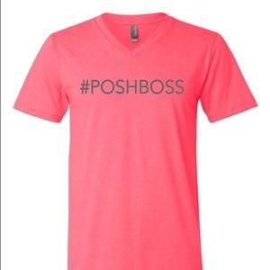 Kyoot Klothing Tops - Pink #POSHBOSS V-Neck