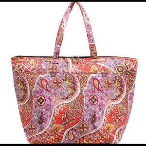 Paisley Weekender/Overnight Bag - XL
