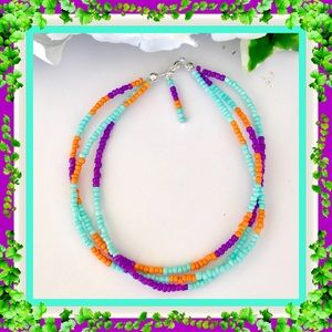 Fashion Flair Jewelry - 🌺🌴🌺 ANKLET / COLORFUL SEED BEAD 🌺🌴🌺