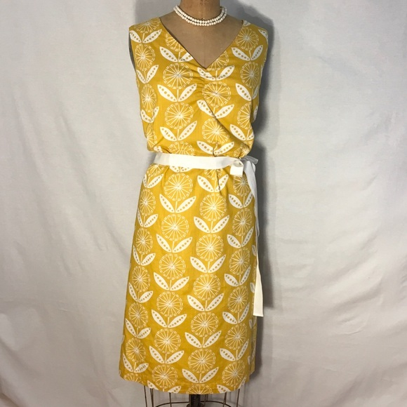 63 off boden dresses skirts boden yellow white floral for Boden yellow