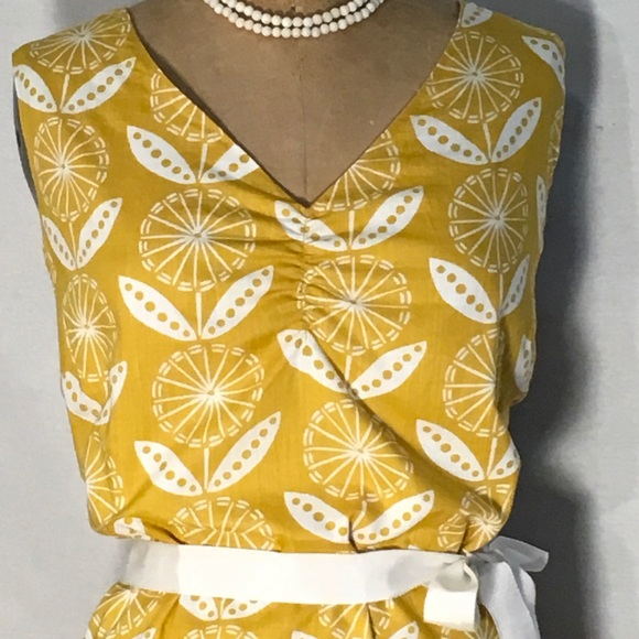 41 off boden dresses skirts boden yellow white floral for Boden yellow