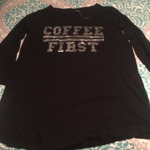 Rampage Other - NWT Coffee First Plus Size Nightgown