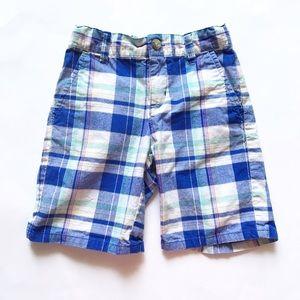 Janie and Jack Other - JANIE AND JACK [boys] Blue white plaid Shorts