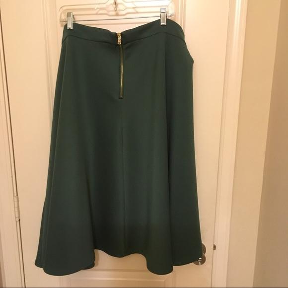 53 eloquii dresses skirts eloquii green midi