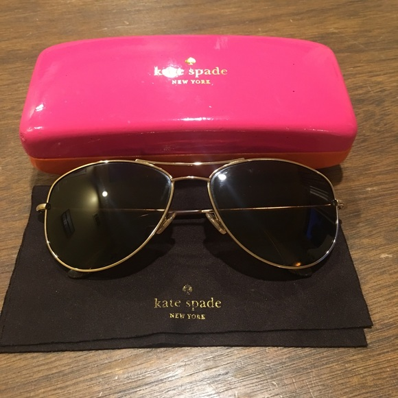 4edb1568ea61 kate spade Accessories - Kate Spade Ally Polarized Aviator Sunglasses