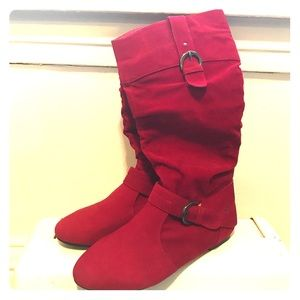 Yoki Shoes - Red boots
