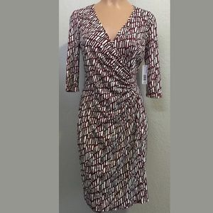 Laundry by Design Dresses & Skirts - Laundry by Design 8 petite dress 3/4 sleeve multi