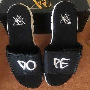 YRU DOPE Sandals