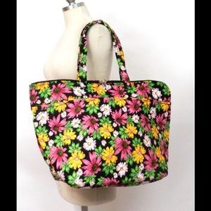 Handbags - Pink Floral Weekender/Overnight Bag - XL