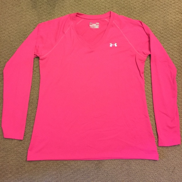 73 Off Under Armour Tops Under Armour Long Sleeve V