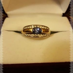 FINAL DROP!💥TANZANITE RING DONE IN 18K GOLD💍💍