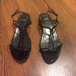Stuart Weitzman Shoes - Stuart Weitzman Black Patent Sandals