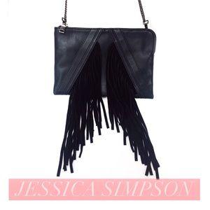 Snob Essentials Handbags - Jessica Simpson Fringe Crossbody