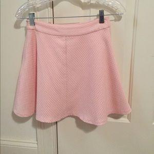 Baby pink skater skirt!! 