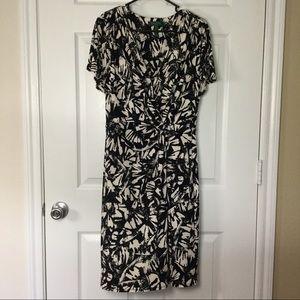 Lauren Ralph Lauren Dresses & Skirts - Lauren Ralph Lauren black cream dress size 12