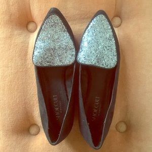 Shoe Cult by Nasty Gal Glitter Loafers