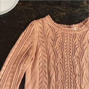 Anthropologie light sweater