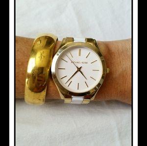 Michael Kors Jewelry - Michael Kors Gold Watch *No Scratches* ?