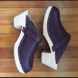 Swedish Hasbeens Shoes - Lotta from Stockholm handmade wooden clogs