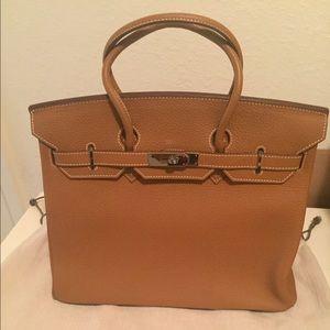 Handbags - Birkin-style 30cm