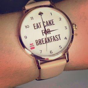 Eat Cake for Breakfast  Watch ⌚️ Kate Spade ♠️