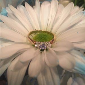 Kay Jewelers Jewelry - Tanzanite & Diamond 14k gold ring